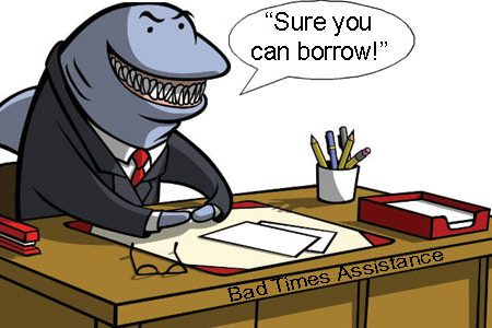 Loan Sharks Alive And Well